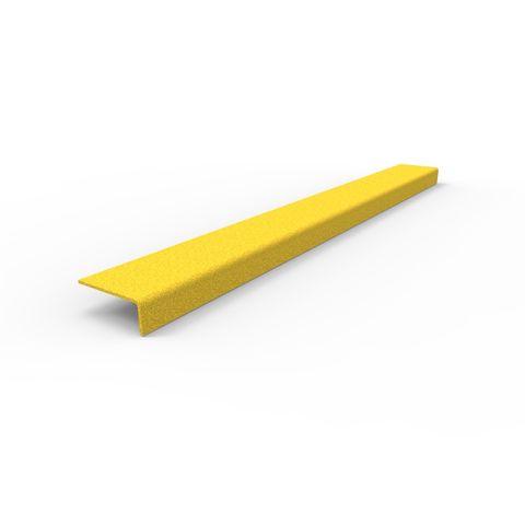 Anti-Slip Stair Nosing 750 x 76 x 30mm - FRP Yellow