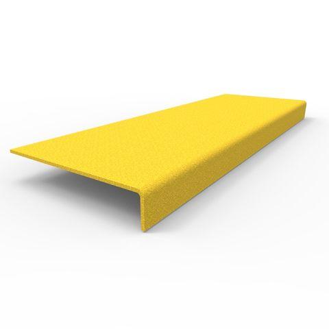 Anti-Slip Stair Nosing 450 x 152 x 30mm - FRP Yellow