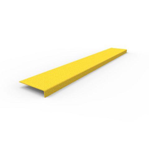 Anti-Slip Stair Nosing 1030 x 152 x 30mm - FRP Yellow