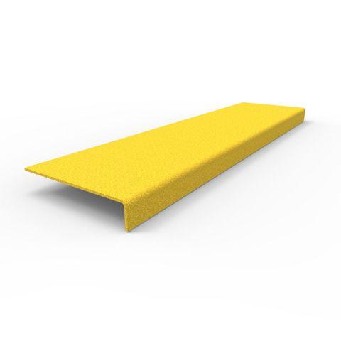 Anti-Slip Stair Nosing 600 x 152 x 30mm - FRP Yellow