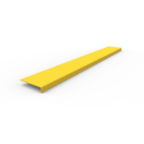 Anti-Slip Stair Nosing 1200 x 152 x 30mm - FRP Yellow