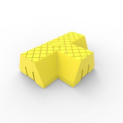 Menni T Intersection Module - Yellow LLDPE