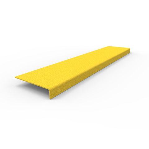 Anti-Slip Stair Nosing 750 x 152 x 30mm - FRP Yellow