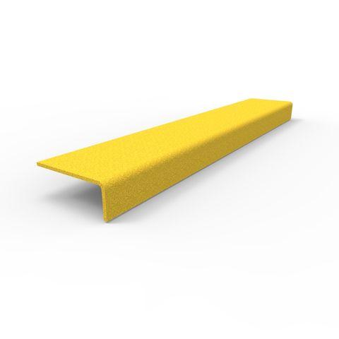 Anti-Slip Stair Nosing 450 x 76 x 30mm - FRP Yellow