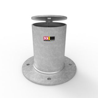 Sleeve-lok Removable Bollard 140mm Holder - Surface Mounted