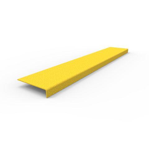 Anti-Slip Stair Nosing 900 x 152 x 30mm - FRP Yellow
