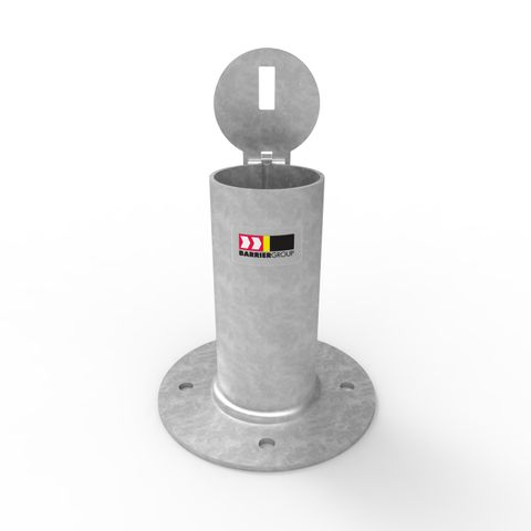 Sleeve-lok Removable Bollard 90mm Holder - Surface Mounted