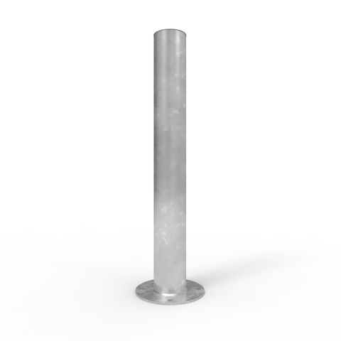 Bollard 165mm Surface Mounted - Galvanised