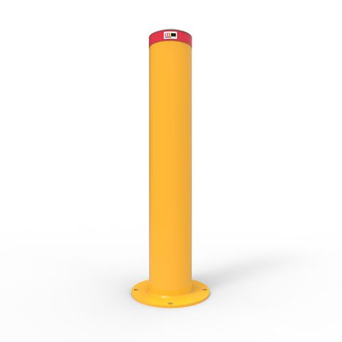 Bollard 220mm Surface Mounted - Galvanised and Powder Coated