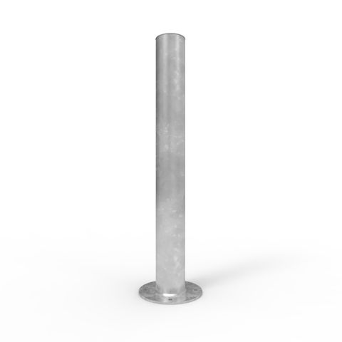 Bollard 140mm Surface Mounted - Galvanised
