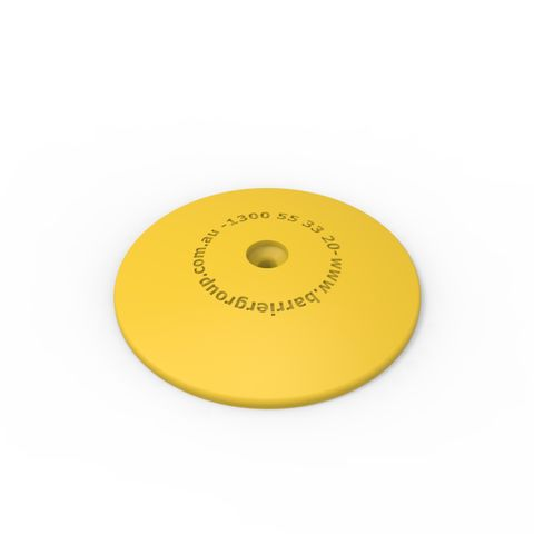 Marking Dots with Fixing Peg pack of 10 - Yellow