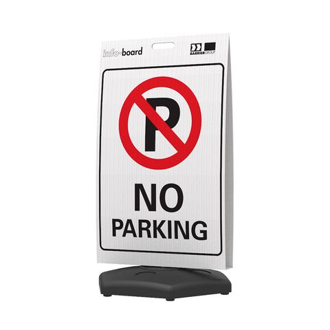 Info-Board - No Parking
