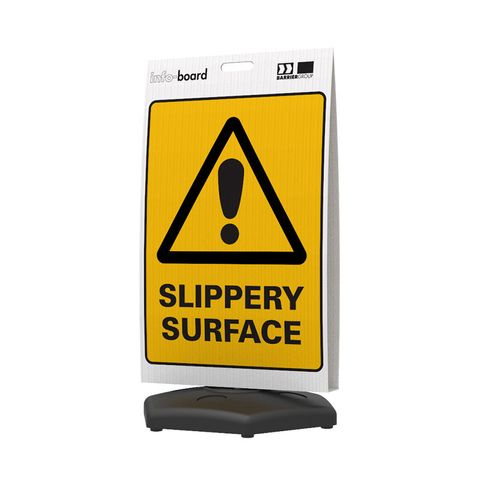 Info-Board - Slippery Surface