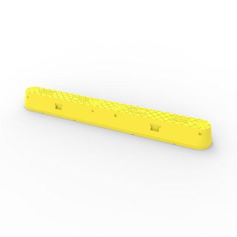 Menni Single Pallet Racking End Protector 1100mm - Yellow LLDPE