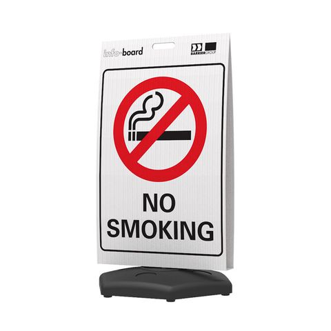 Info-Board - No Smoking