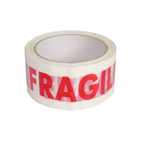 Packing Tape - FRAGILE carton of 72