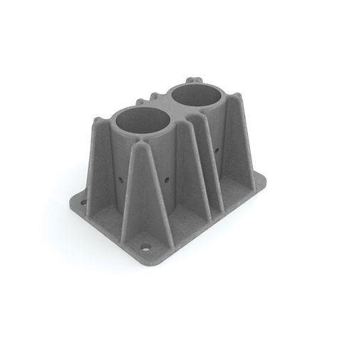 Safety Rail Cast Shoe - Double