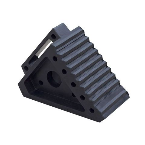 Wheel Chock Moulded Rubber - Small