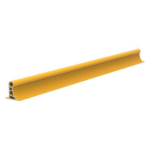 Heavy Bump Rail 2400 x 165 x 8mm Aluminium - Yellow