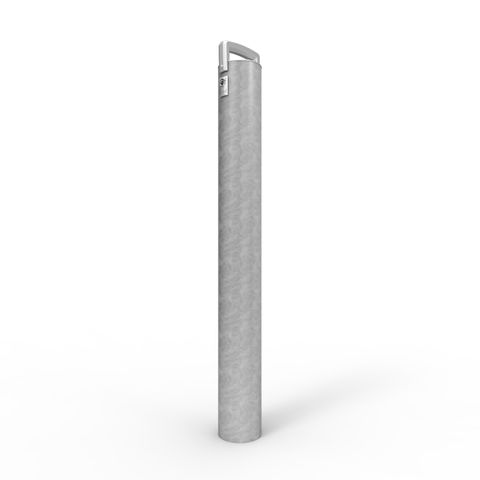 Cam-lok Removable Bollard 140mm Economy Lock - Galvanised