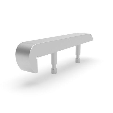 Skateboard Stop - Bullnose 316 Stainless Steel