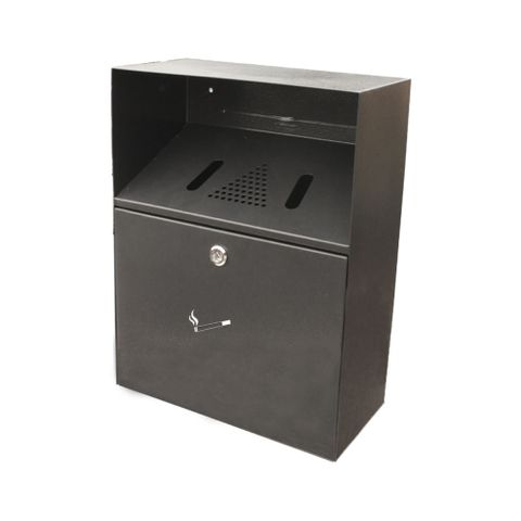 Smoker's Bin - Wall Mounted 6lt - Powder Coated Black