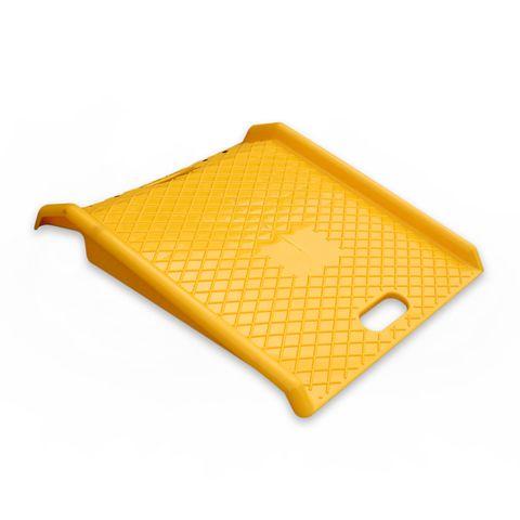 Portable Trolley Ramp 600mm - Yellow