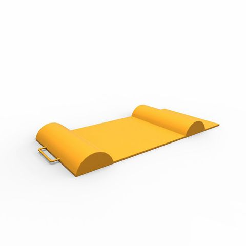 Smart Parking Mat Rubber - Yellow