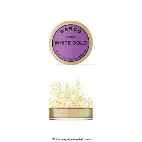 BARCO   FLITTER GLITTER   WHITE GOLD   NON TOXIC   10ML