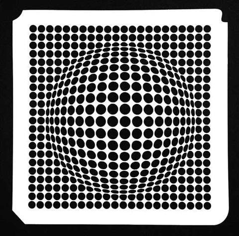 3D BALL STENCIL