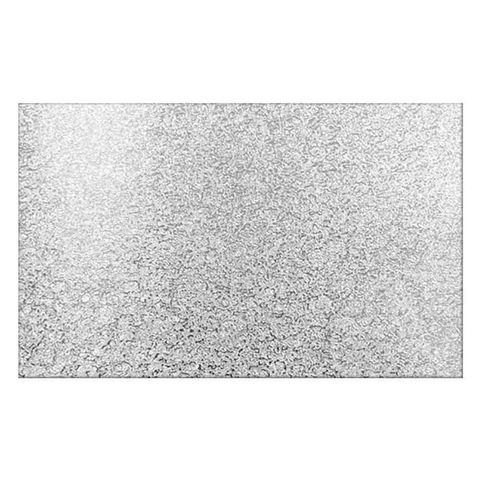 CAKE BOARD | SILVER | 28 X 16 INCH | RECTANGLE | MDF | 6MM THICK