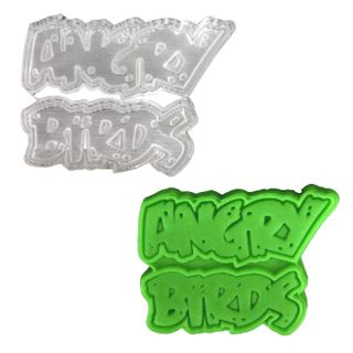 ANGRY BIRDS 7 PLUNGER CUTTER
