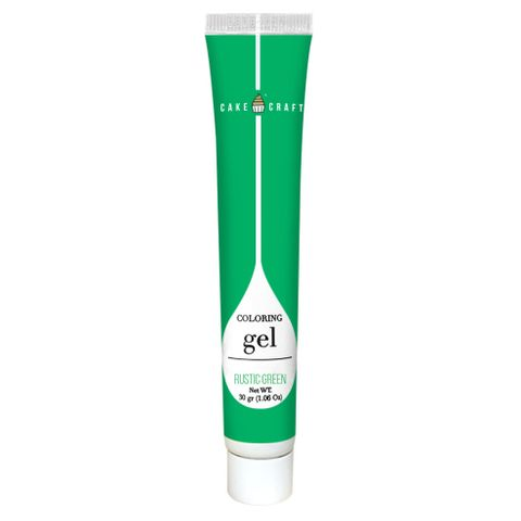CAKE CRAFT | COLOURING GEL | RUSTIC GREEN | 30G