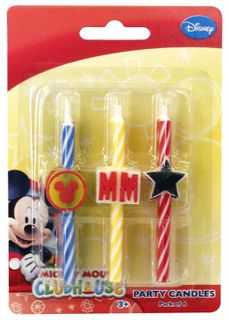MICKEY MOUSE - ICON CANDLE SET OF 6