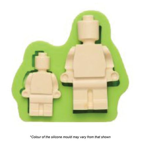 LEGO MAN SILICONE MOULD