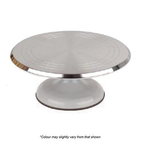 SILVER TURNTABLE