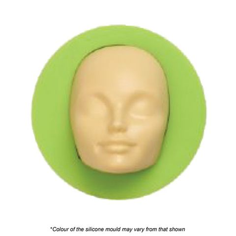 WOMEN FACE SILICONE MOULD