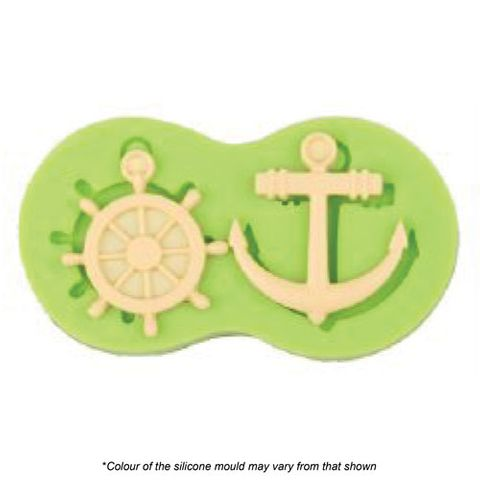 ANCHOR AND HELM SILICONE MOULD