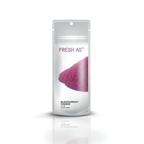 FRESH AS | BLACKCURRANT POWDER | 40G