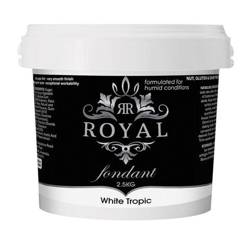 ROYAL   WHITE TROPIC   FONDANT   2.5KG