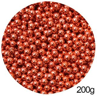 CACHOUS/BALLS | RED | 5MM | SPRINKLES | 200G