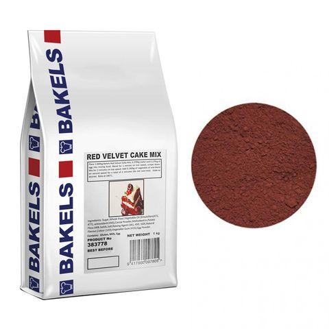 BAKELS | RED VELVET CAKE MIX | 1KG