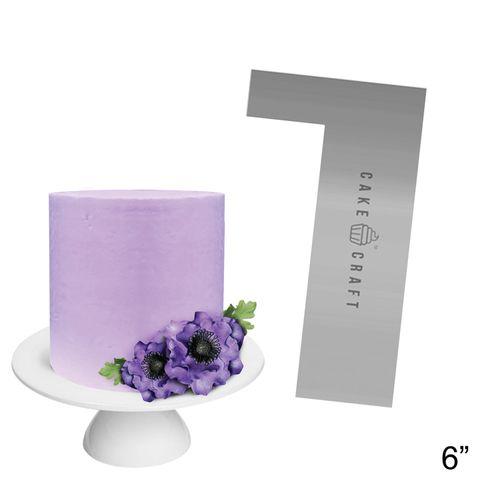 CAKE CRAFT   BUTTERCREAM COMB   STRAIGHT EDGE   6 INCH