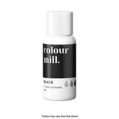 COLOUR MILL | BLACK | FOOD COLOUR | 20ML