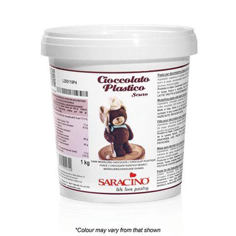 SARACINO | MODELLING CHOCOLATE | DARK CHOCOLATE | 1KG
