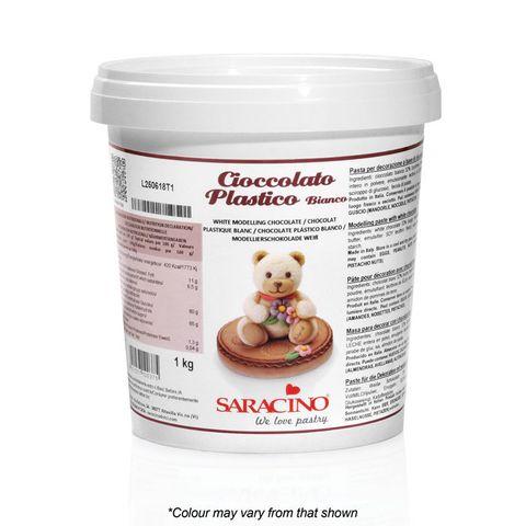 SARACINO | MODELLING CHOCOLATE | WHITE | 1KG