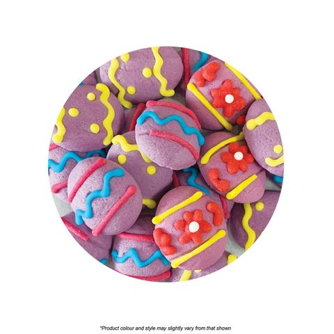 CAKE CRAFT | EASTER EGG | ICING DECORATIONS | 480 PIECES