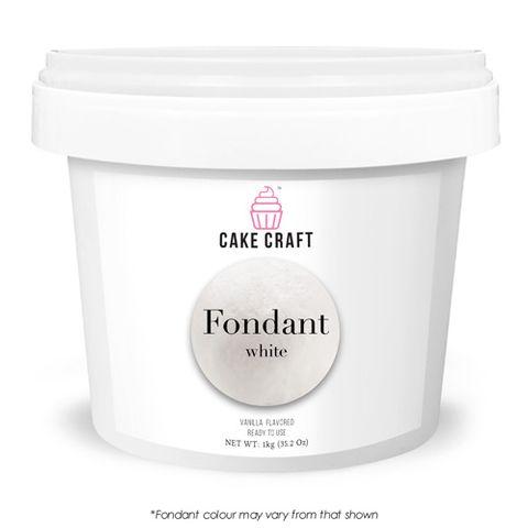 CAKE CRAFT   FONDANT   WHITE   5KG
