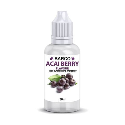 BARCO | FLAVOURS | ACAI BERRY | 30ML