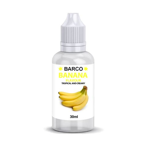BARCO | FLAVOURS | BANANA | 30ML